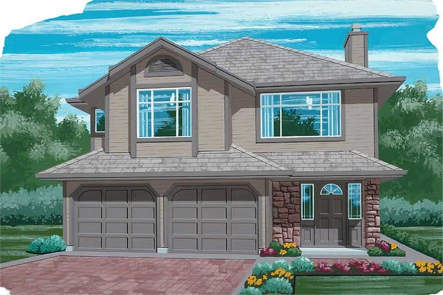 Main image for house plan # 6842