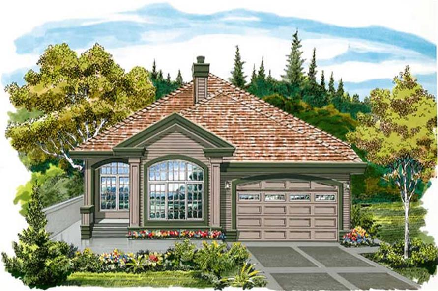 Main image for house plan # 7409