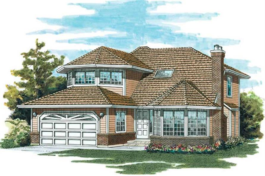 Main image for house plan # 6831