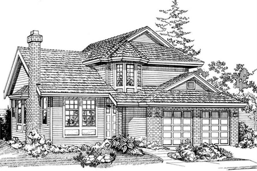Main image for house plan # 6828