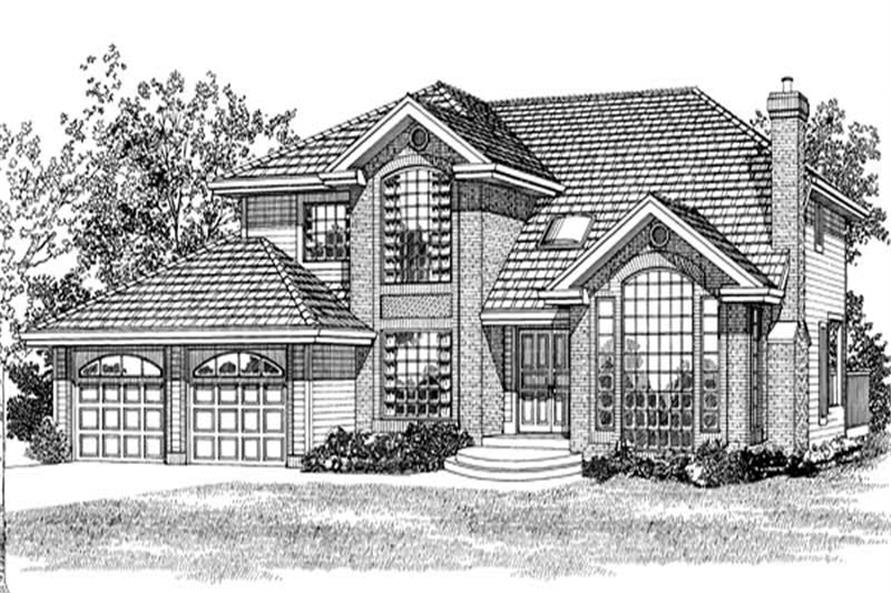 Main image for house plan # 7212