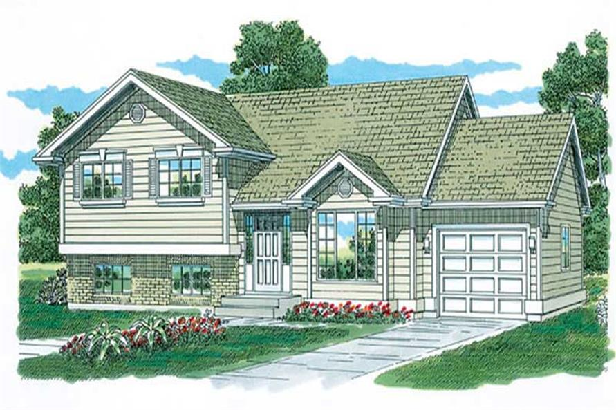 Main image for house plan # 7222