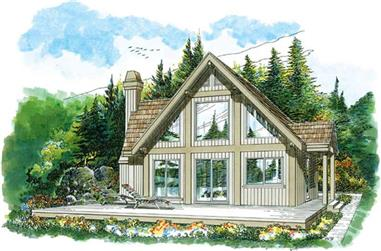 3-Bedroom, 1140 Sq Ft Small House Plans - 167-1523 - Main Exterior