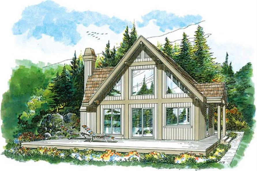 Main image for house plan # 7227