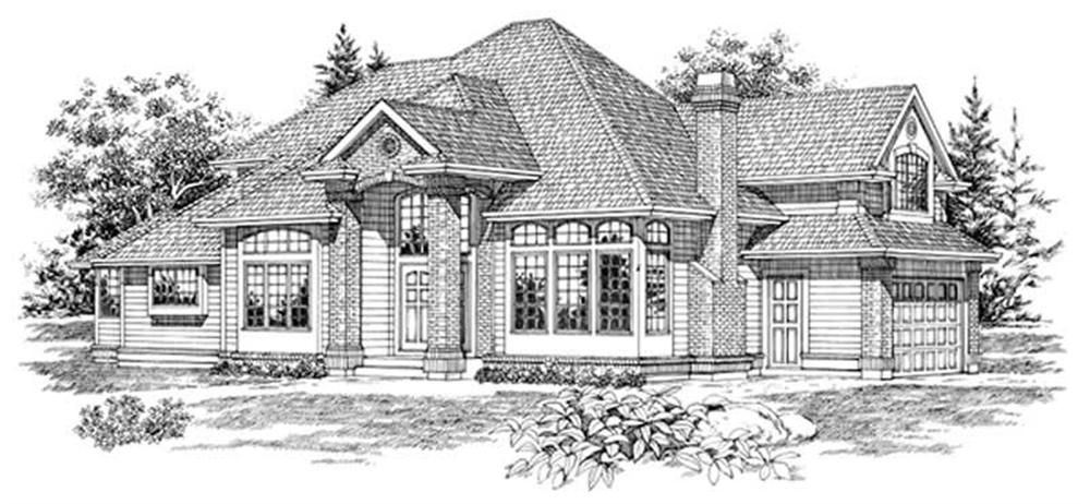 Main image for house plan # 6884