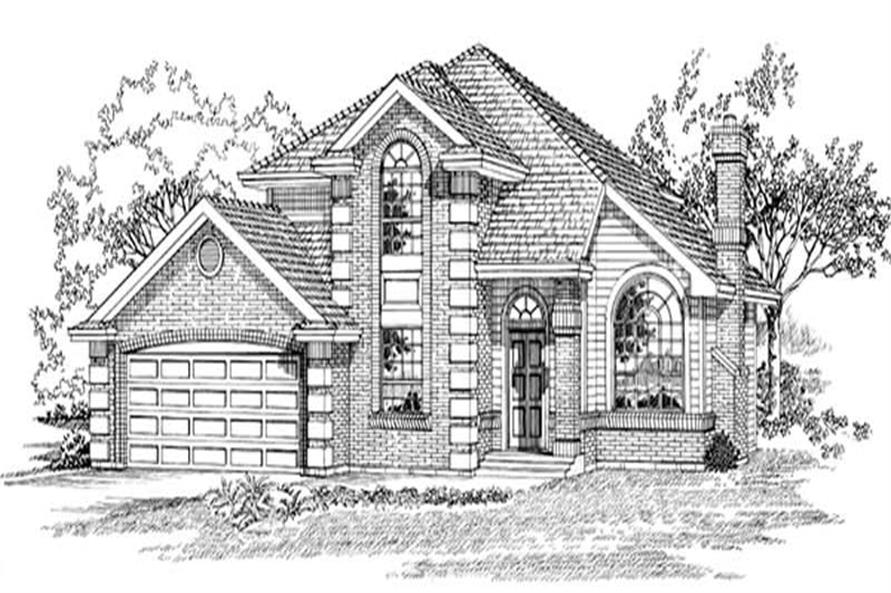 Main image for house plan # 7181