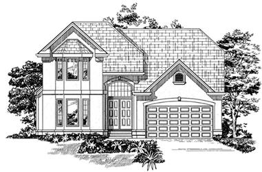 4-Bedroom, 2455 Sq Ft Ranch House Plan - 167-1535 - Front Exterior
