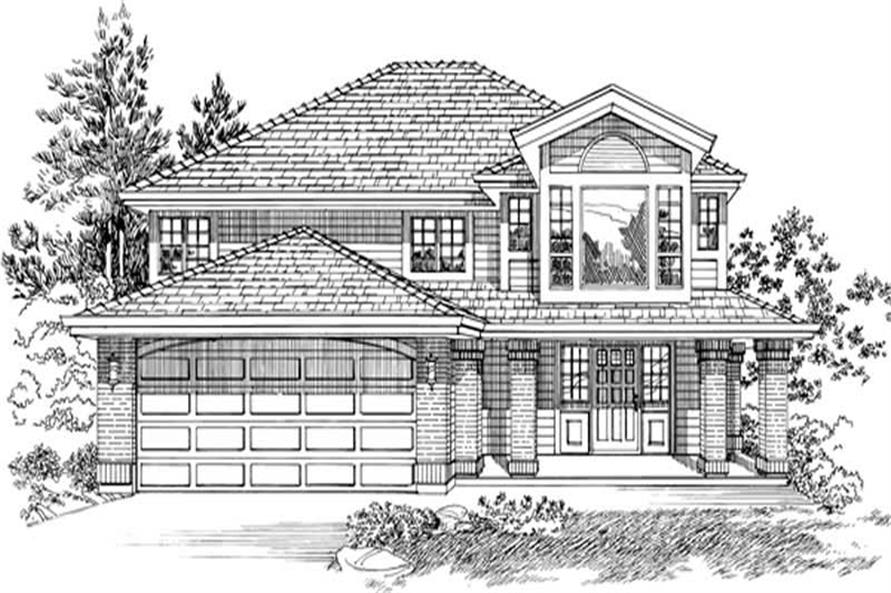 Main image for house plan # 6878