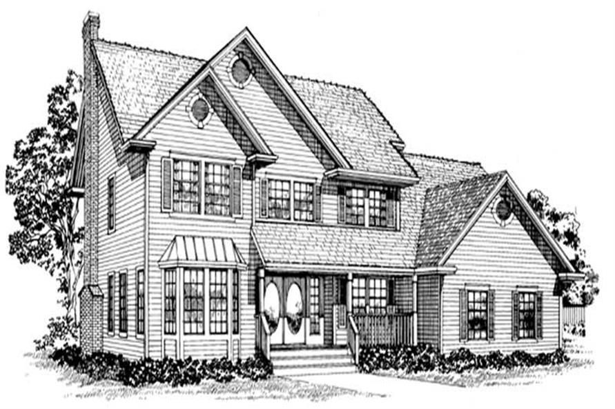 Main image for house plan # 7188