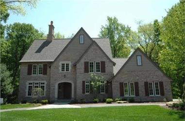 4-Bedroom, 3010 Sq Ft Country Home Plan - 168-1008 - Main Exterior