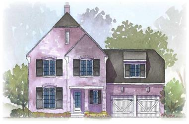 3-Bedroom, 2728 Sq Ft European Home Plan - 168-1010 - Main Exterior