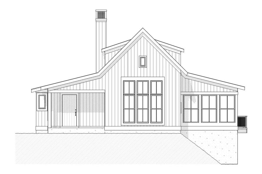 Home Plan Front Elevation of this 3-Bedroom,2299 Sq Ft Plan -168-1011