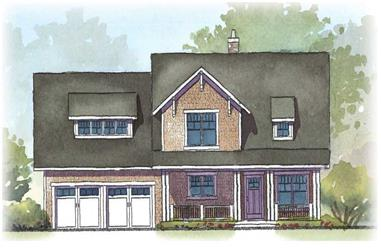 4-Bedroom, 3164 Sq Ft Country House Plan - 168-1016 - Front Exterior