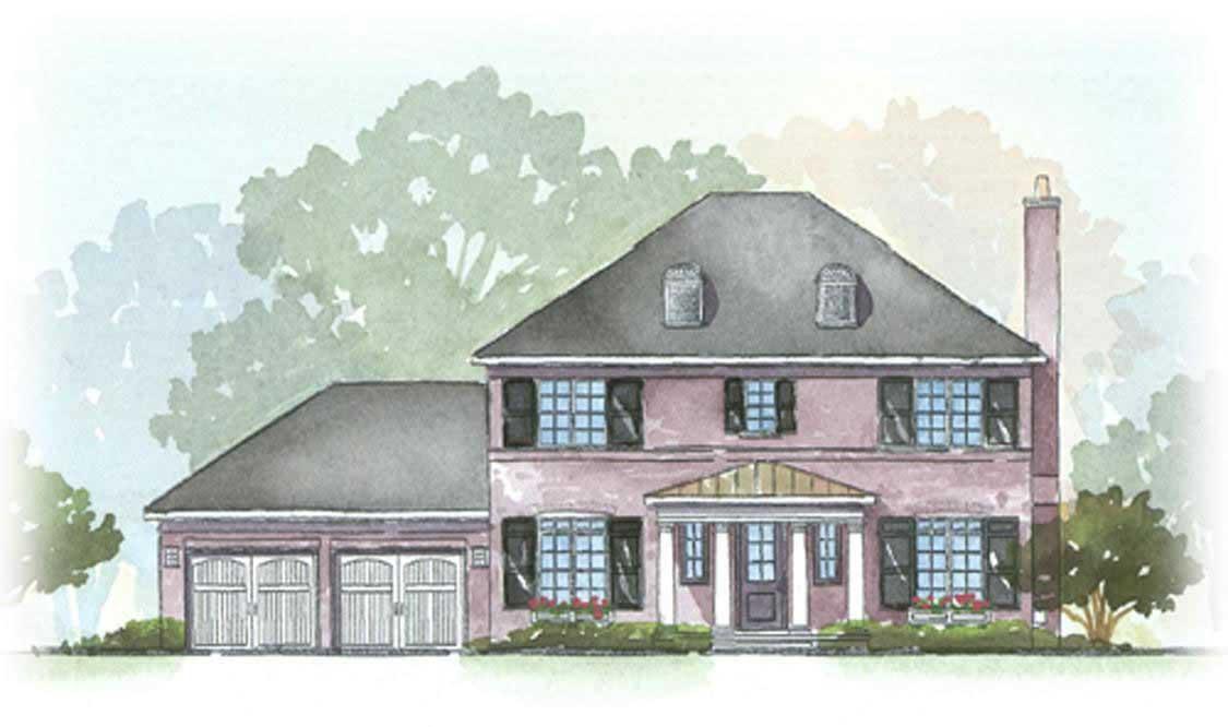 Georgian House Plans Home Design Fisk