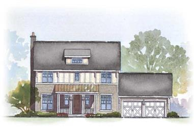 3-Bedroom, 2294 Sq Ft Ranch Home Plan - 168-1039 - Main Exterior