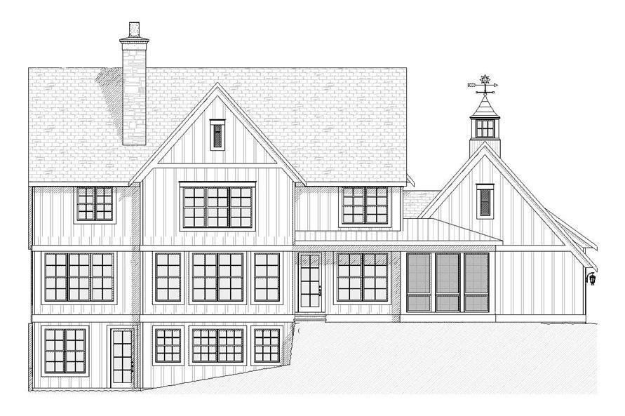 French Country House Plan 4 Bedrms 3 5 Baths 3466 Sq