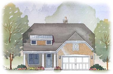 2-Bedroom, 2071 Sq Ft Craftsman Home Plan - 168-1060 - Main Exterior