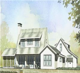 House Plan #168-1065