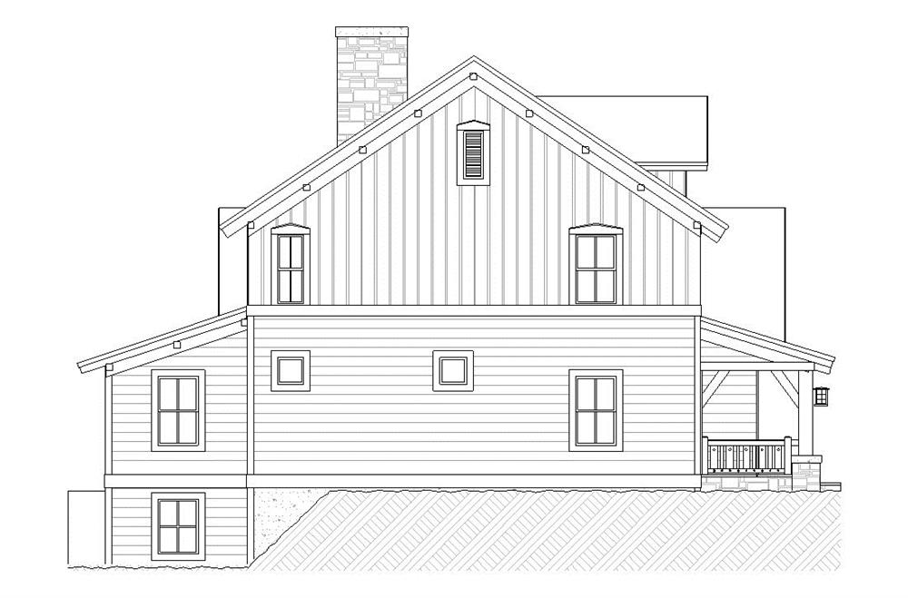 Elevation Plan And Side Views : Side view house plans escortsea
