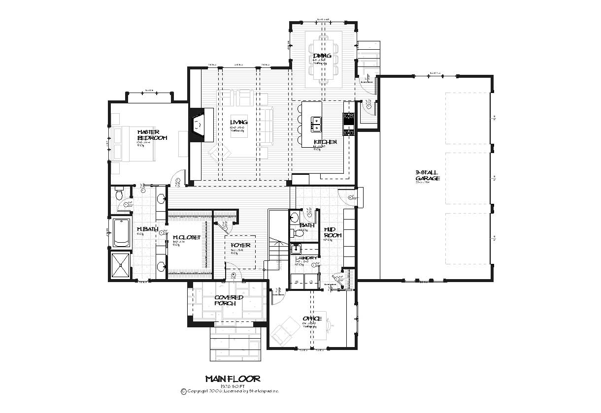 Homeplans home design spring hill for Springhill designs
