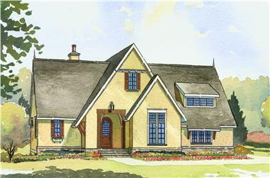 4-Bedroom, 3397 Sq Ft Contemporary Home Plan - 168-1076 - Main Exterior