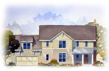 3-Bedroom, 2122 Sq Ft Country Home Plan - 168-1082 - Main Exterior