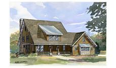 This image is a colored rendering of these Country Houseplans.