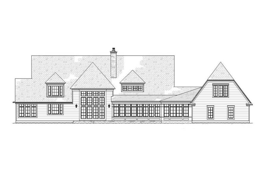 Country House Plan 4 Bedrms 3 5 Baths 4635 Sq Ft