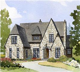 House Plan #168-1093