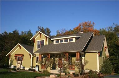Photo of charming Craftsman Home Plan #168-1099.