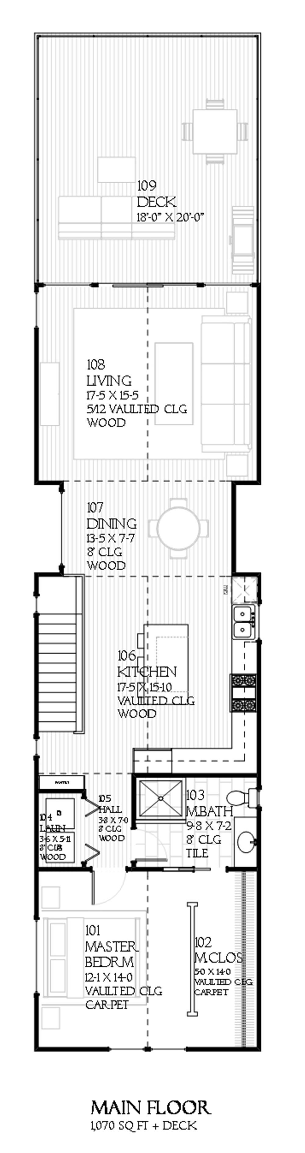 168-1102 house plan upper level