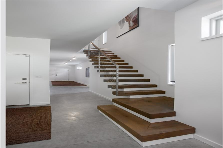 Stair case of this 3-Bedroom,2024 Sq Ft Plan -2024