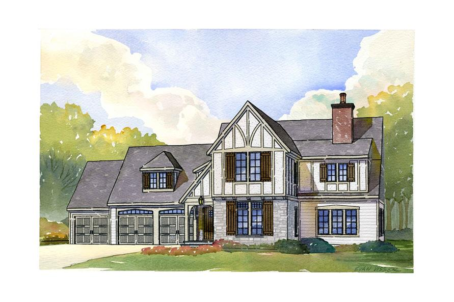 168-1108: Home Plan Rendering