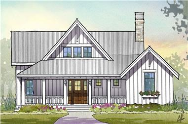 3-Bedroom, 2597 Sq Ft Traditional House Plan - 168-1110 - Front Exterior