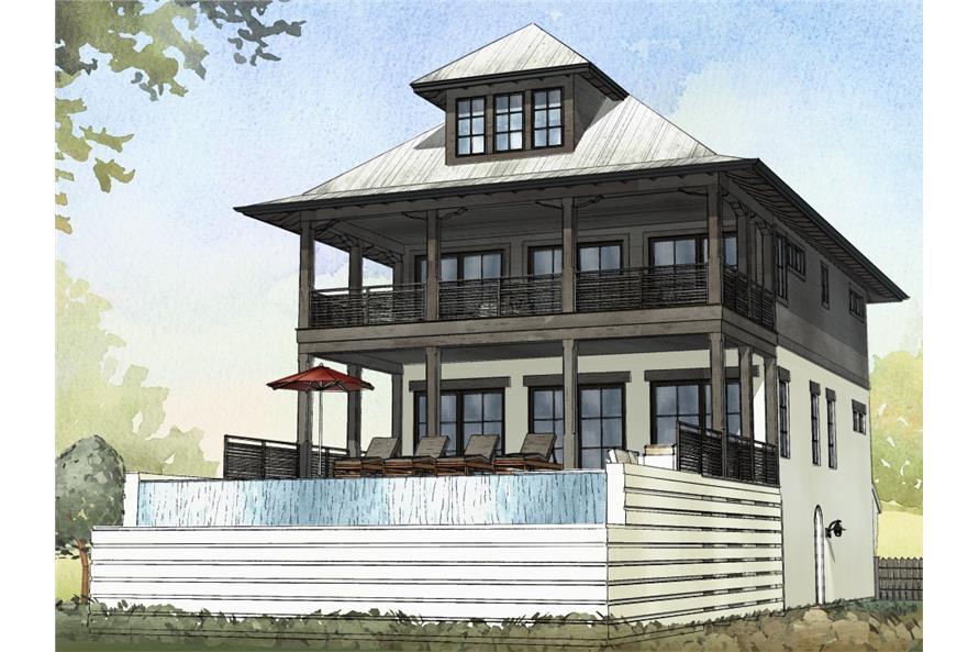 168-1117: Home Plan Rendering