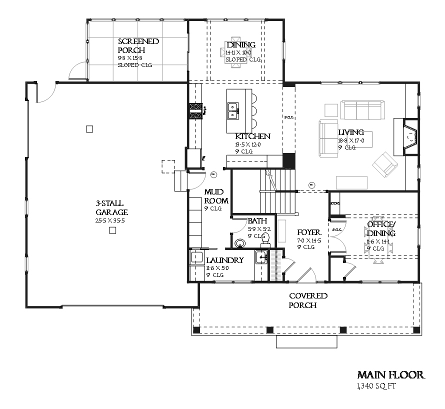 Craftsman house plan 168 1118 3 bedrm 2456 sq ft home theplancollection - Craftman style home plans collection ...