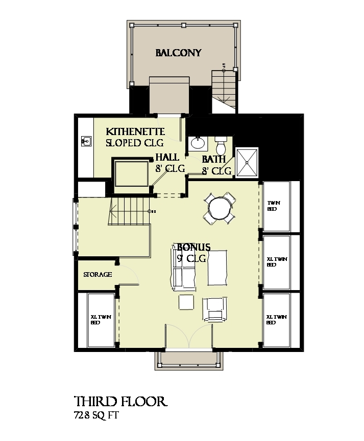 Beachfront house plan 168 1120 4 bedrm 3470 sq ft home for 1120 westchester place floor plan