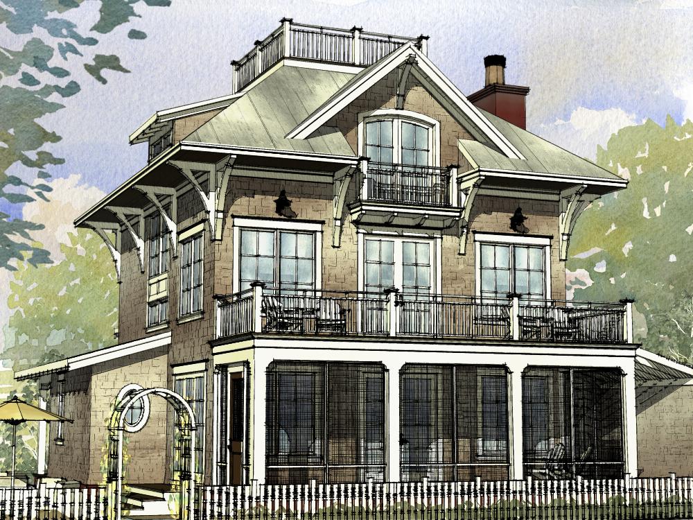 Beachfront House Plan 168 1120 4 Bedrm 3470 Sq Ft Home