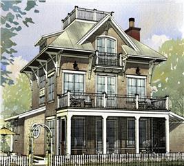 House Plan #168-1120