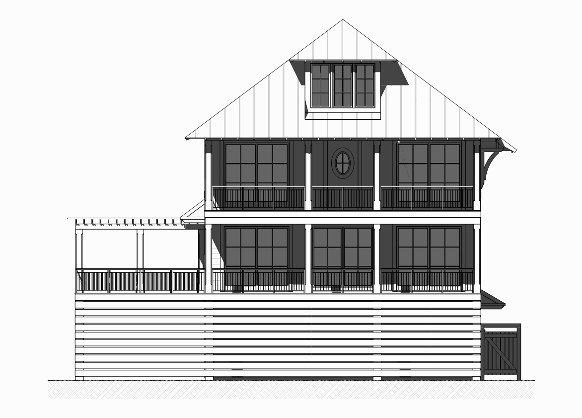 Beachfront house plan 168 1121 5 bedrm 3331 sq ft home for Oceanfront house plans