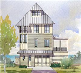 House Plan #168-1121