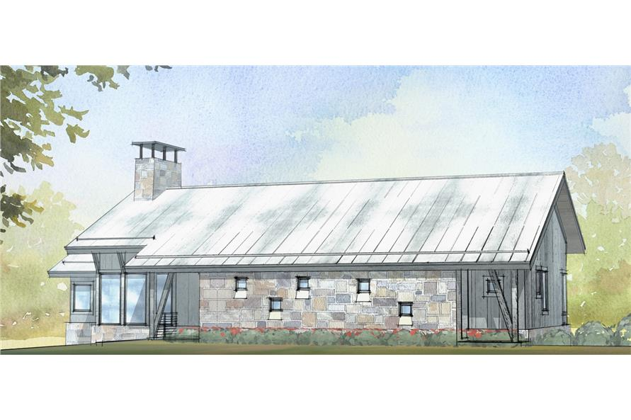 3-Bedroom, 3206 Sq Ft Country Home Plan - 168-1127 - Main Exterior