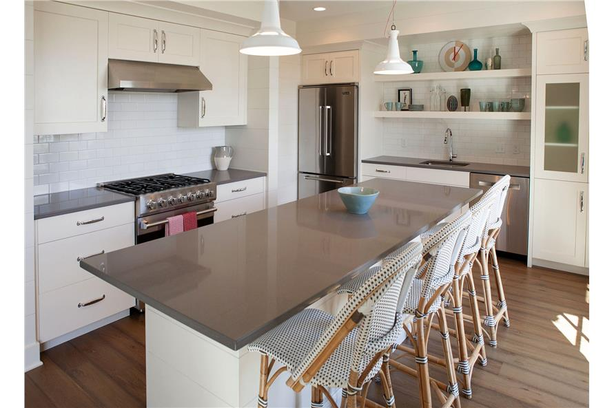 168-1128: Home Interior Photograph-Kitchen