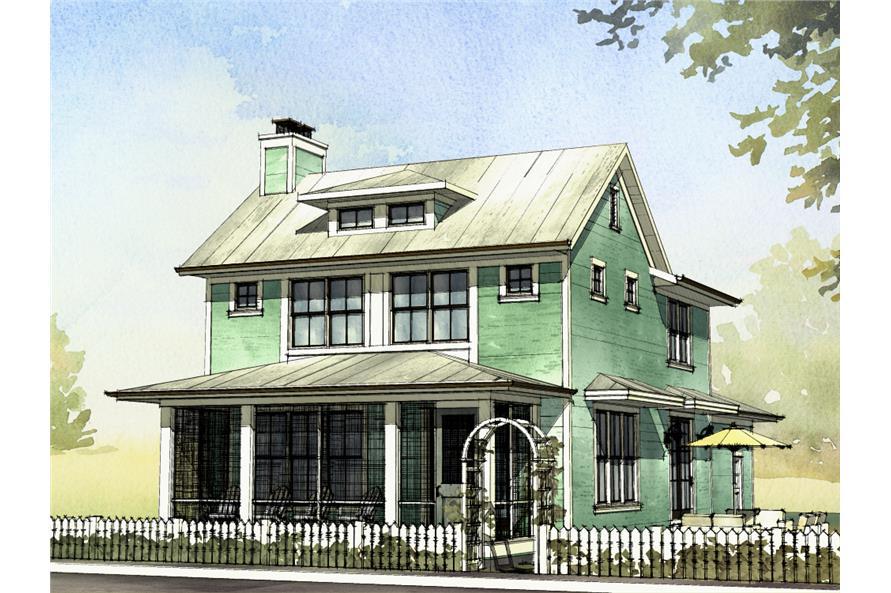 168-1128: Home Plan Rendering