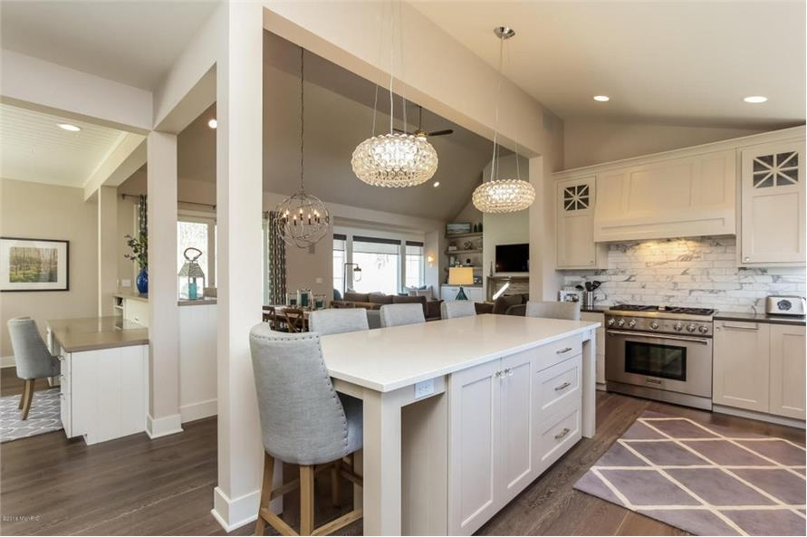 Kitchen of this 4-Bedroom,3552 Sq Ft Plan -3552