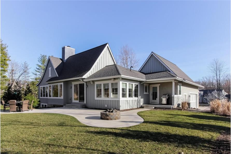 Home Exterior Photograph of this 4-Bedroom,3552 Sq Ft Plan -3552
