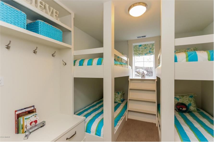 Bedroom: Kids of this 4-Bedroom,3552 Sq Ft Plan -3552