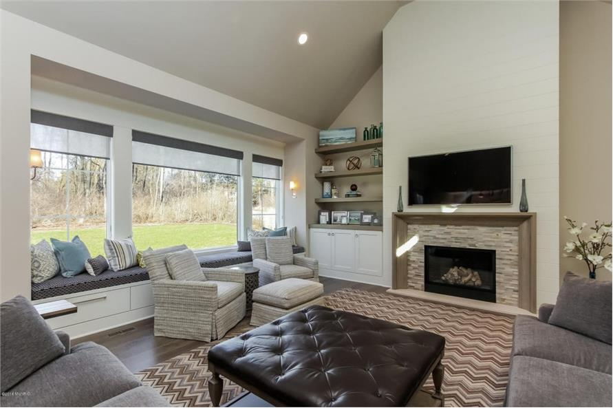 Hearth Room of this 4-Bedroom,3552 Sq Ft Plan -3552