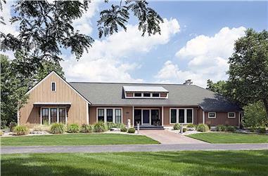 4-Bedroom, 2082 Sq Ft Ranch Home Plan - 168-1141 - Main Exterior