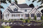 View house Plan#169-1007